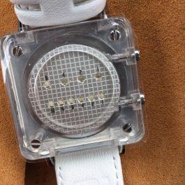 Бинарные часы 01TheOne Razor Block rb907g1
