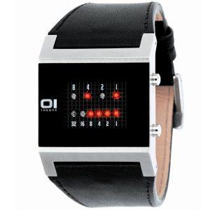Бинарные часы THE ONE. Двоичный код.