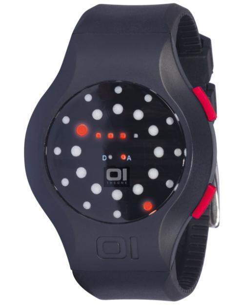 Бинарные часы 01TheOne Manali Kick mk202r3