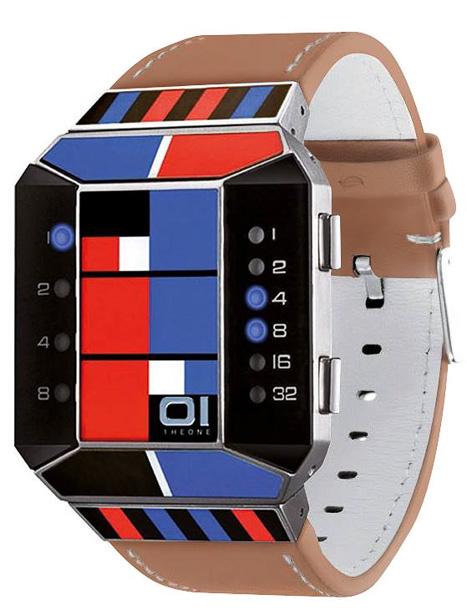 Led часы 01TheOne Art Edition sc132b1