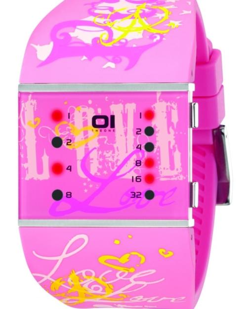 Светодиодные часы 01TheOne Slim Square slsl138r3