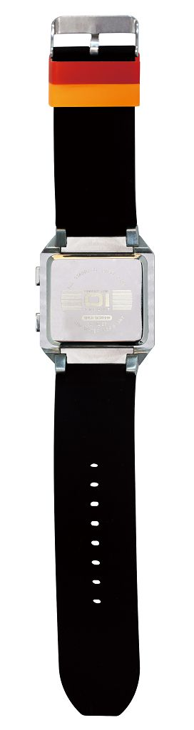 Бинарные часы 01TheOne Split Screen SC102B6 Color Strap Blue Light